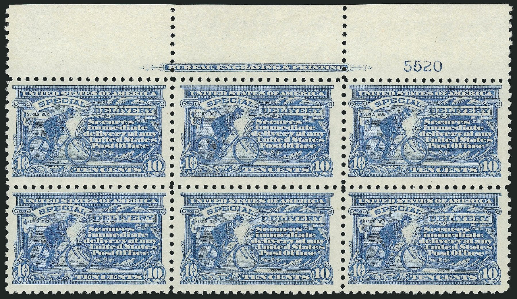 Prices of US Stamps Scott Catalogue # E10 - 1916 10c Special Delivery. Robert Siegel Auction Galleries, Mar 2015, Sale 1094, Lot 24