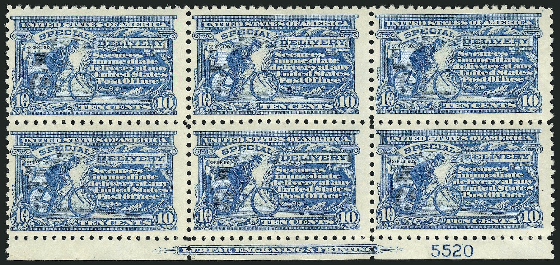 US Stamp Prices Scott Catalogue # E10: 10c 1916 Special Delivery. Robert Siegel Auction Galleries, Mar 2015, Sale 1094, Lot 25