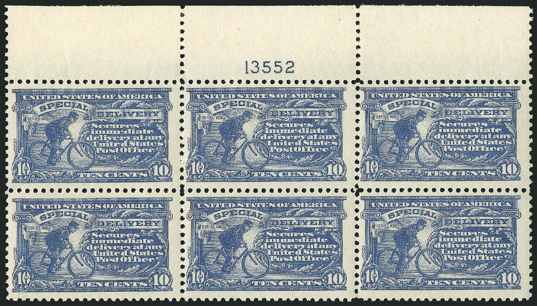US Stamps Values Scott Cat. #E11 - 1917 10c Special Delivery. Robert Siegel Auction Galleries, Dec 2014, Sale 1090, Lot 1629