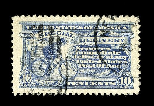 Values of US Stamp Scott Cat. #E11: 10c 1917 Special Delivery. Spink Shreves Galleries, May 2014, Sale 148, Lot 375