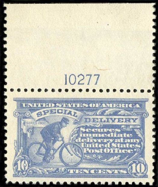 Prices of US Stamps Scott Cat. # E11 - 1917 10c Special Delivery. Spink Shreves Galleries, Jul 2015, Sale 151, Lot 375
