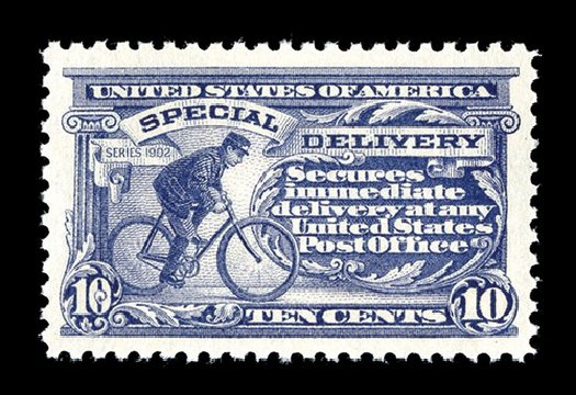 US Stamps Values Scott #E11 - 1917 10c Special Delivery. Spink Shreves Galleries, May 2014, Sale 148, Lot 376