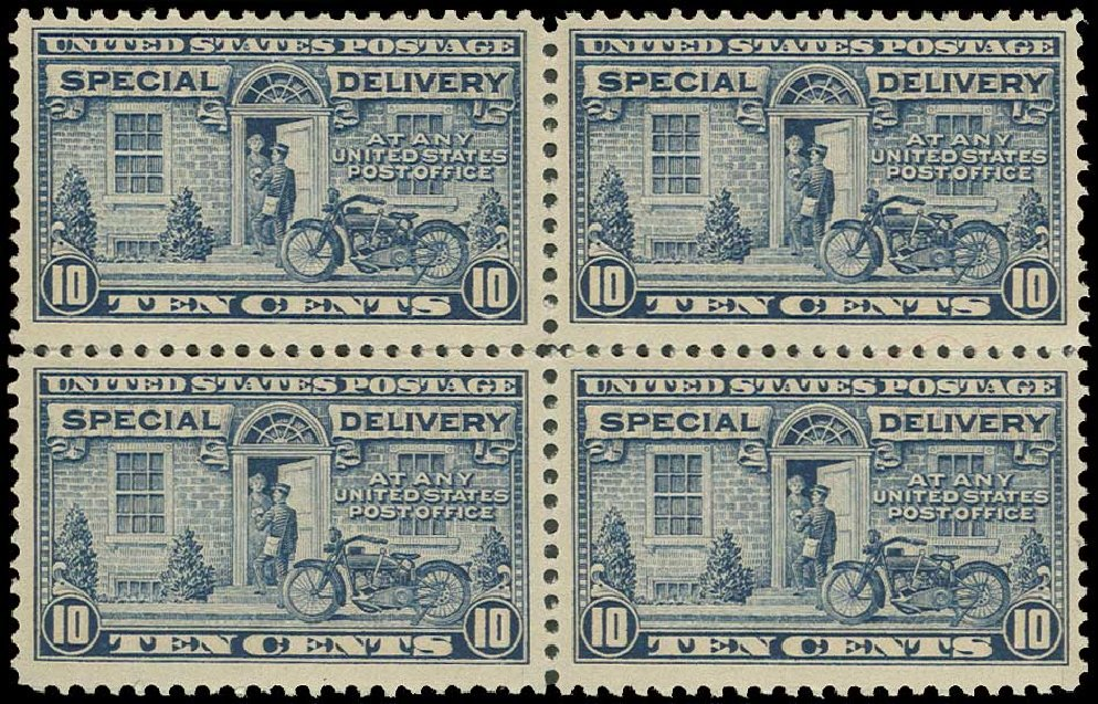 US Stamp Value Scott Catalog #E12: 1922 10c Special Delivery. H.R. Harmer, Jun 2013, Sale 3003, Lot 1557