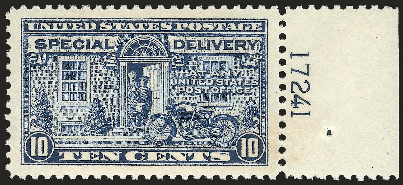 Prices of US Stamp Scott Cat. #E12 - 1922 10c Special Delivery. Robert Siegel Auction Galleries, Apr 2009, Sale 972, Lot 3408