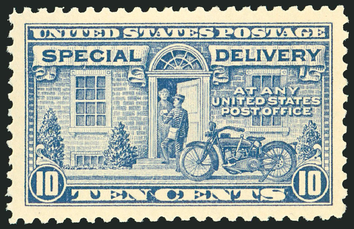 US Stamps Price Scott Catalogue # E12 - 10c 1922 Special Delivery. Robert Siegel Auction Galleries, Jun 2009, Sale 975, Lot 2170