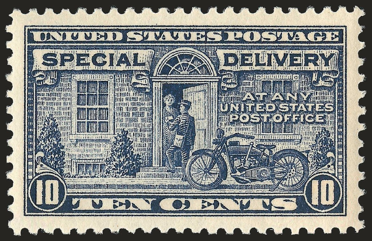 US Stamps Price Scott Catalog E12 - 10c 1922 Special Delivery. Robert Siegel Auction Galleries, Sep 2009, Sale 968B, Lot 781