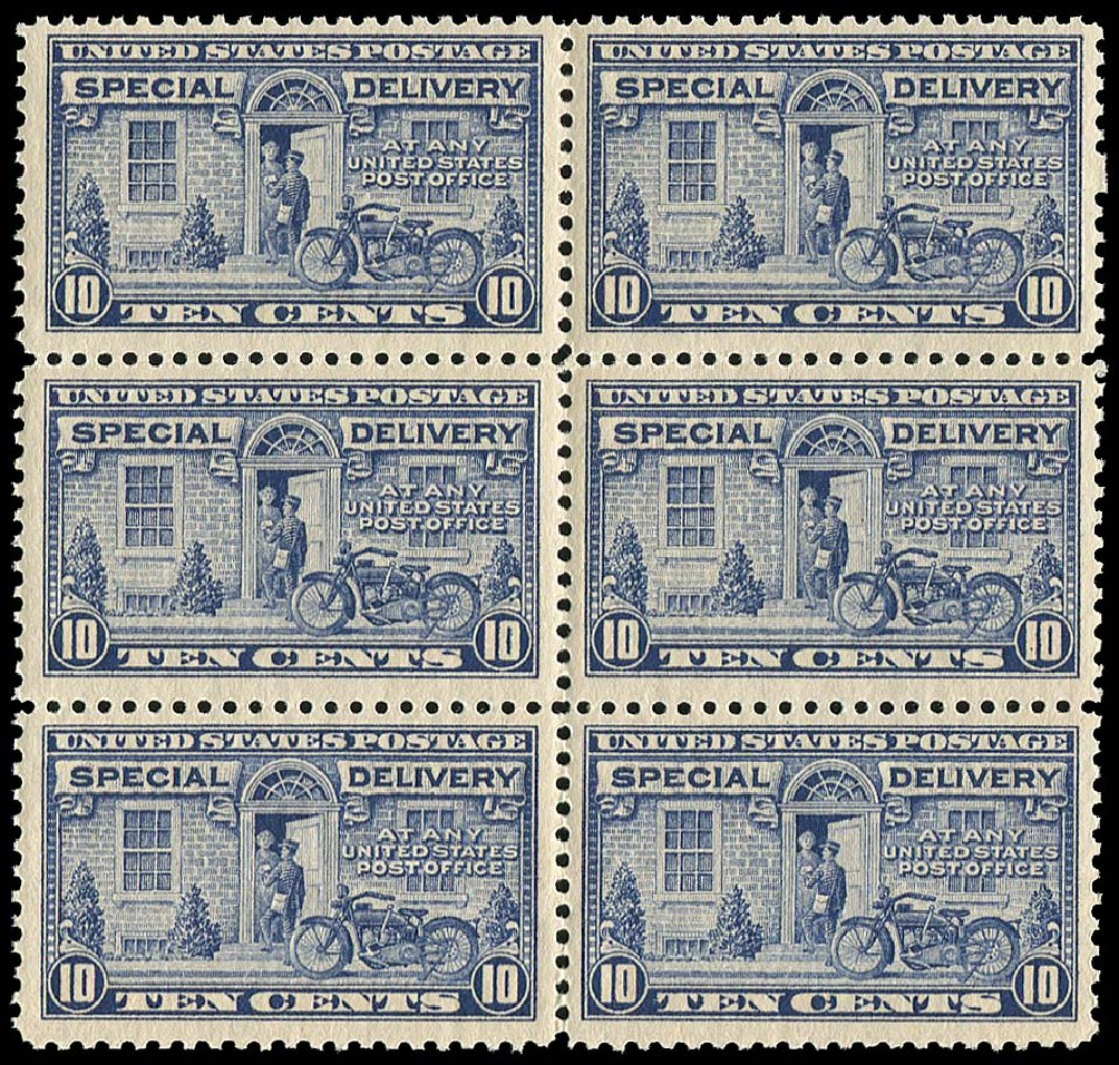 US Stamp Value Scott Catalog E12: 1922 10c Special Delivery. Regency-Superior, Nov 2014, Sale 108, Lot 1135