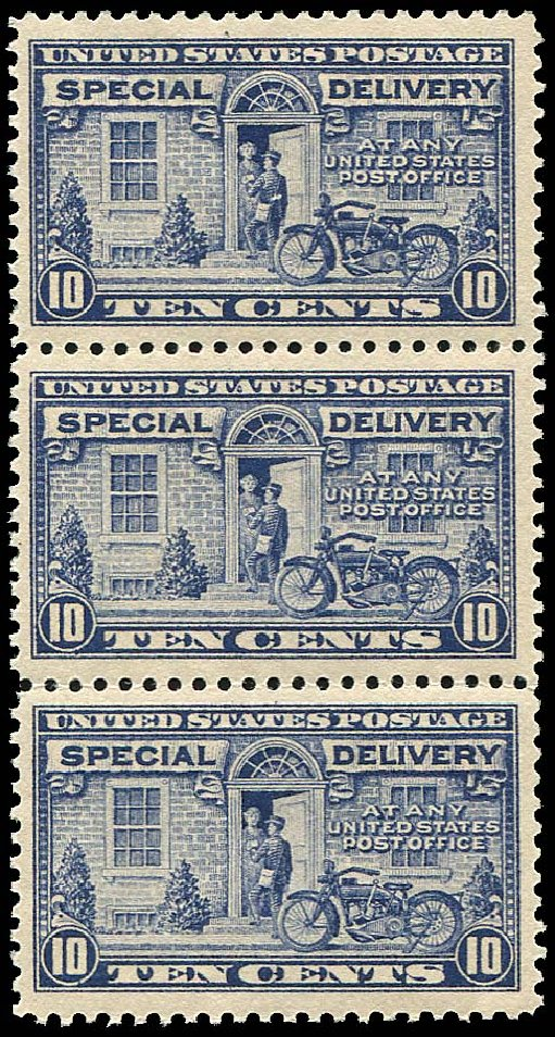 US Stamp Price Scott Cat. E12: 1922 10c Special Delivery. Regency-Superior, Jan 2015, Sale 109, Lot 1452