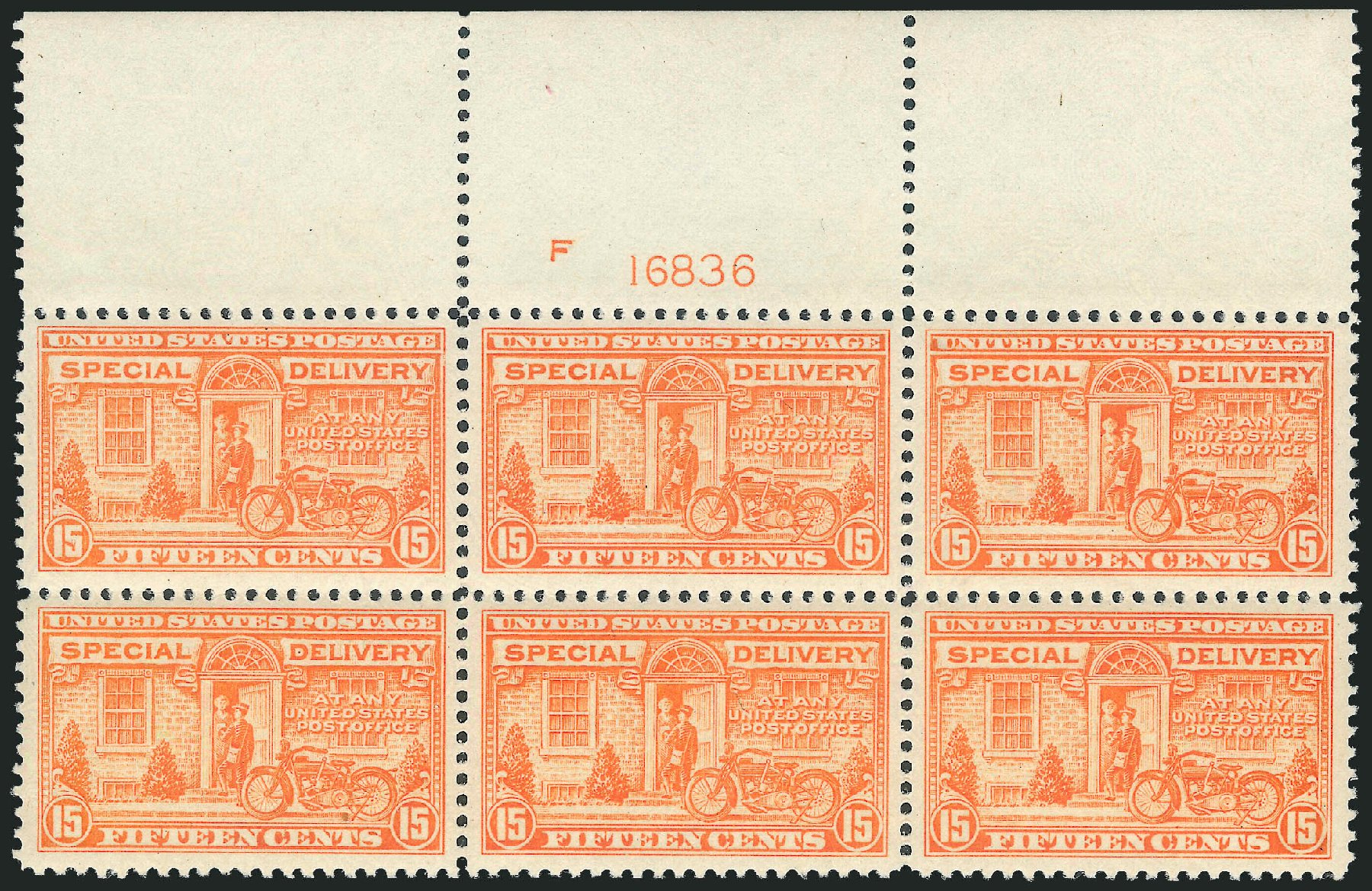 Cost of US Stamp Scott #E13 - 15c 1925 Special Delivery. Robert Siegel Auction Galleries, Dec 2012, Sale 1037, Lot 2245