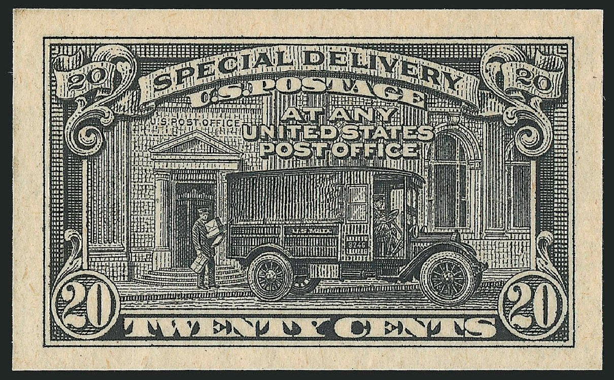 US Stamp Price Scott Catalogue E14: 1925 20c Special Delivery. Robert Siegel Auction Galleries, Oct 2014, Sale 1082, Lot 209