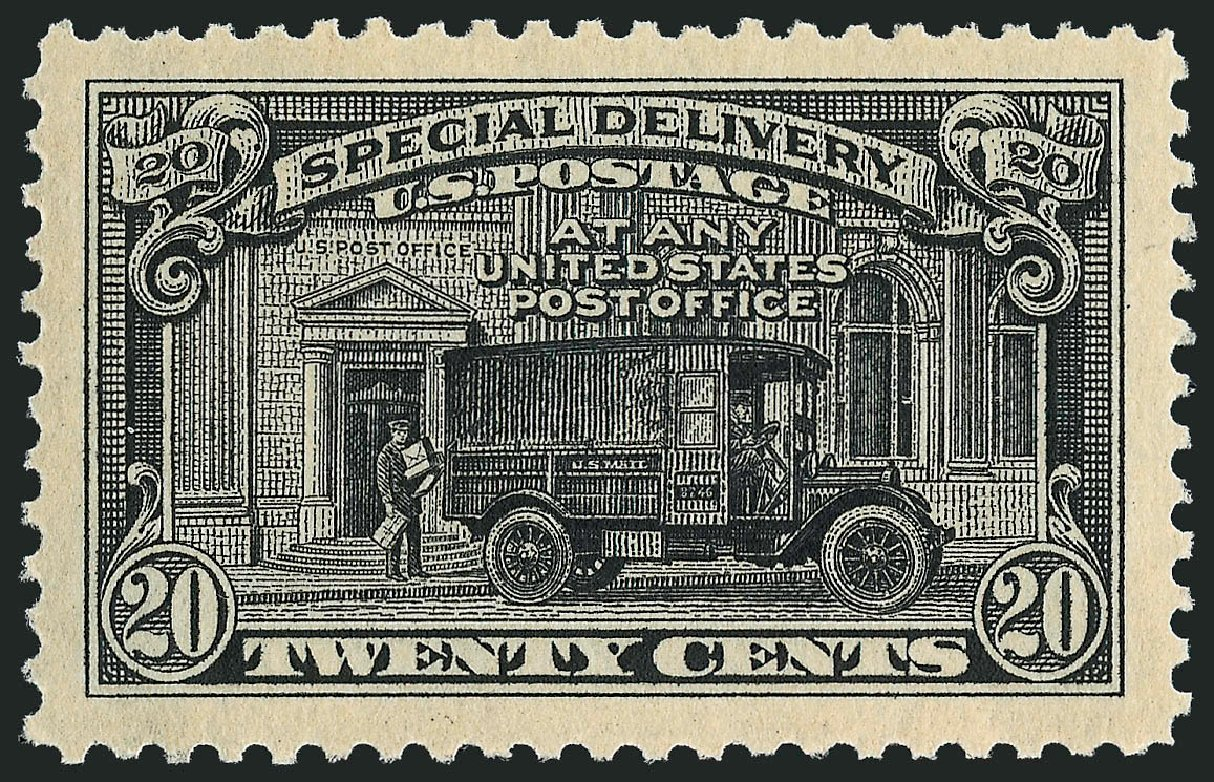 US Stamps Price Scott Cat. # E14 - 1925 20c Special Delivery. Robert Siegel Auction Galleries, Sep 2008, Sale 962, Lot 2983