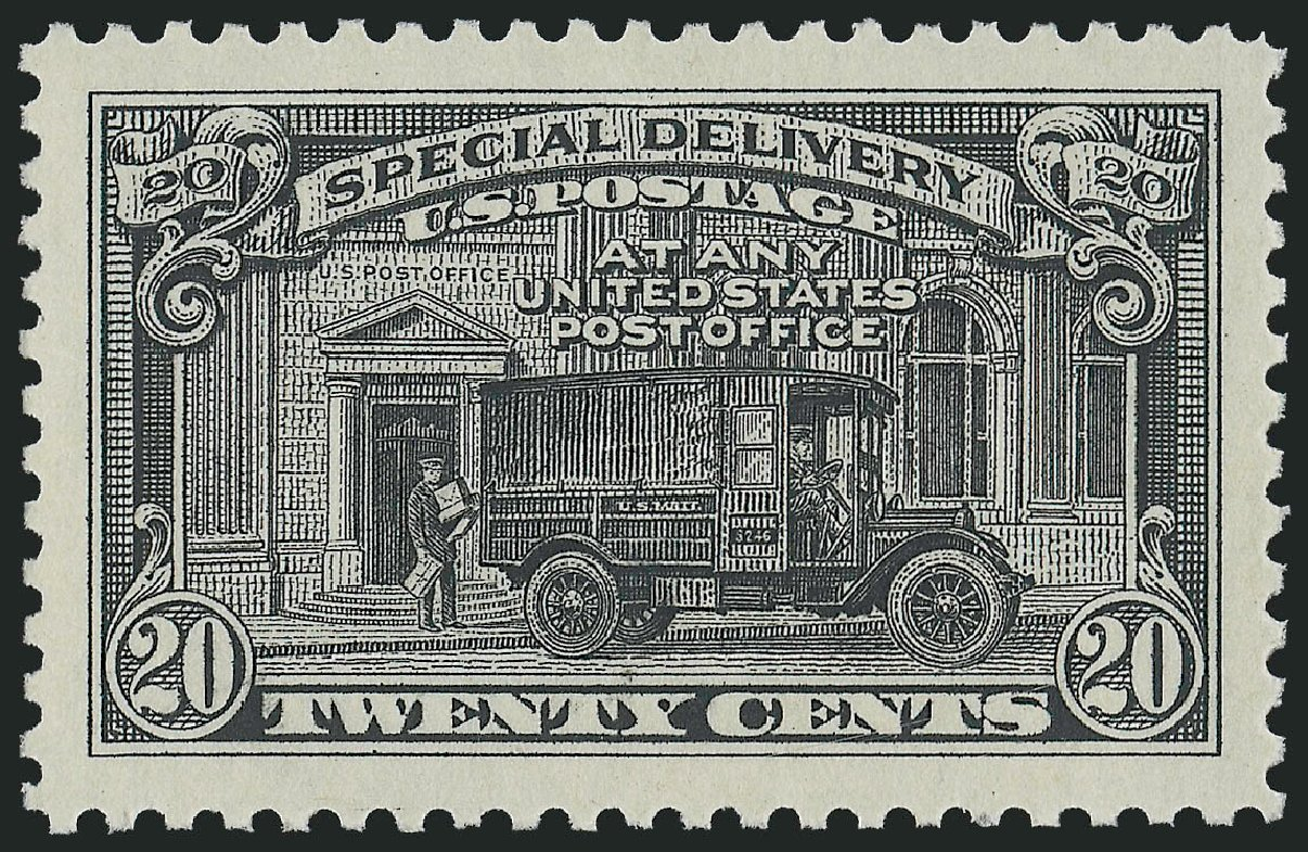 US Stamps Value Scott Cat. #E14 - 1925 20c Special Delivery. Robert Siegel Auction Galleries, Oct 2011, Sale 1014, Lot 2246