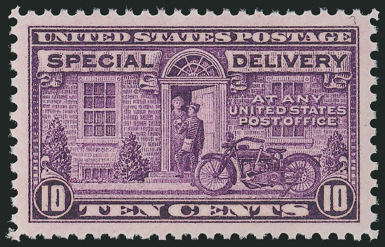 US Stamp Values Scott #E15 - 10c 1927 Special Delivery. Robert Siegel Auction Galleries, Oct 2011, Sale 1014, Lot 2247