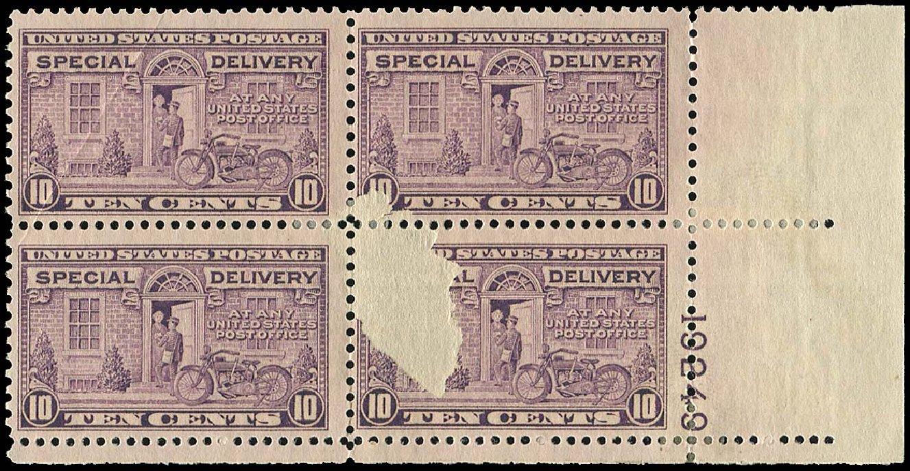 US Stamp Price Scott Catalogue E15: 1927 10c Special Delivery. Regency-Superior, Nov 2014, Sale 108, Lot 1580