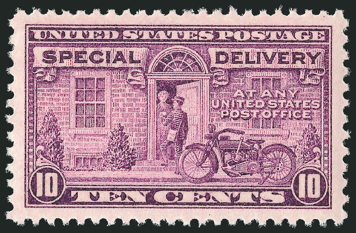 Price of US Stamp Scott Catalogue # E15: 10c 1927 Special Delivery. Robert Siegel Auction Galleries, Nov 2012, Sale 1034, Lot 544