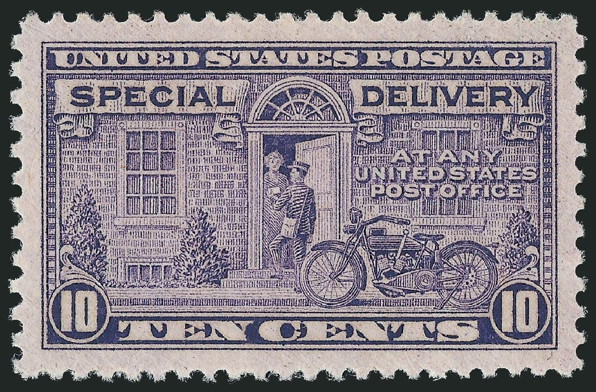 US Stamp Prices Scott Cat. #E15: 10c 1927 Special Delivery. Robert Siegel Auction Galleries, Dec 2010, Sale 1000, Lot 1285