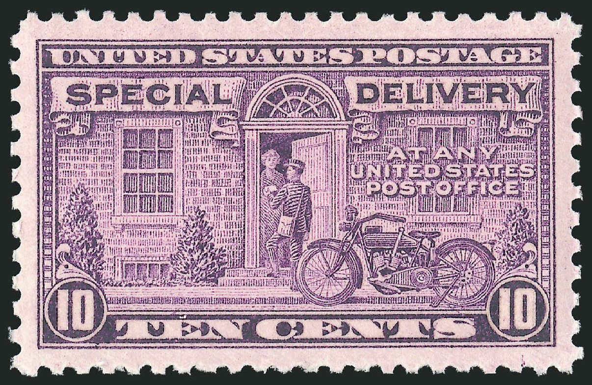 Cost of US Stamp Scott Cat. E15 - 1927 10c Special Delivery. Robert Siegel Auction Galleries, Jul 2013, Sale 1050, Lot 743
