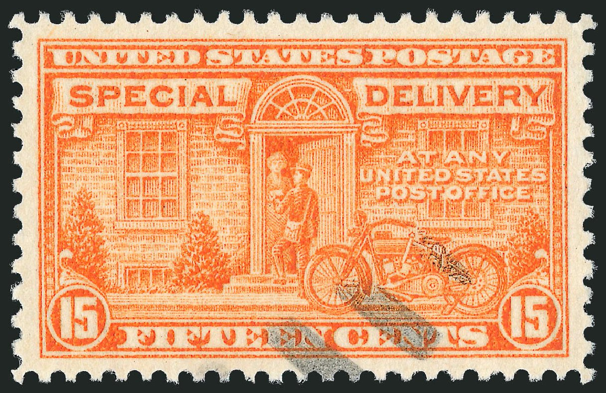 US Stamp Price Scott Cat. E16: 15c 1931 Special Delivery. Robert Siegel Auction Galleries, Jun 2009, Sale 975, Lot 2175