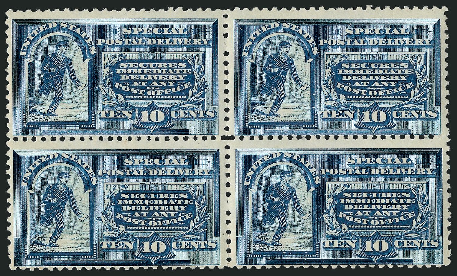 US Stamps Prices Scott Cat. # E2 - 1888 10c Special Delivery. Robert Siegel Auction Galleries, Mar 2014, Sale 1067, Lot 1669