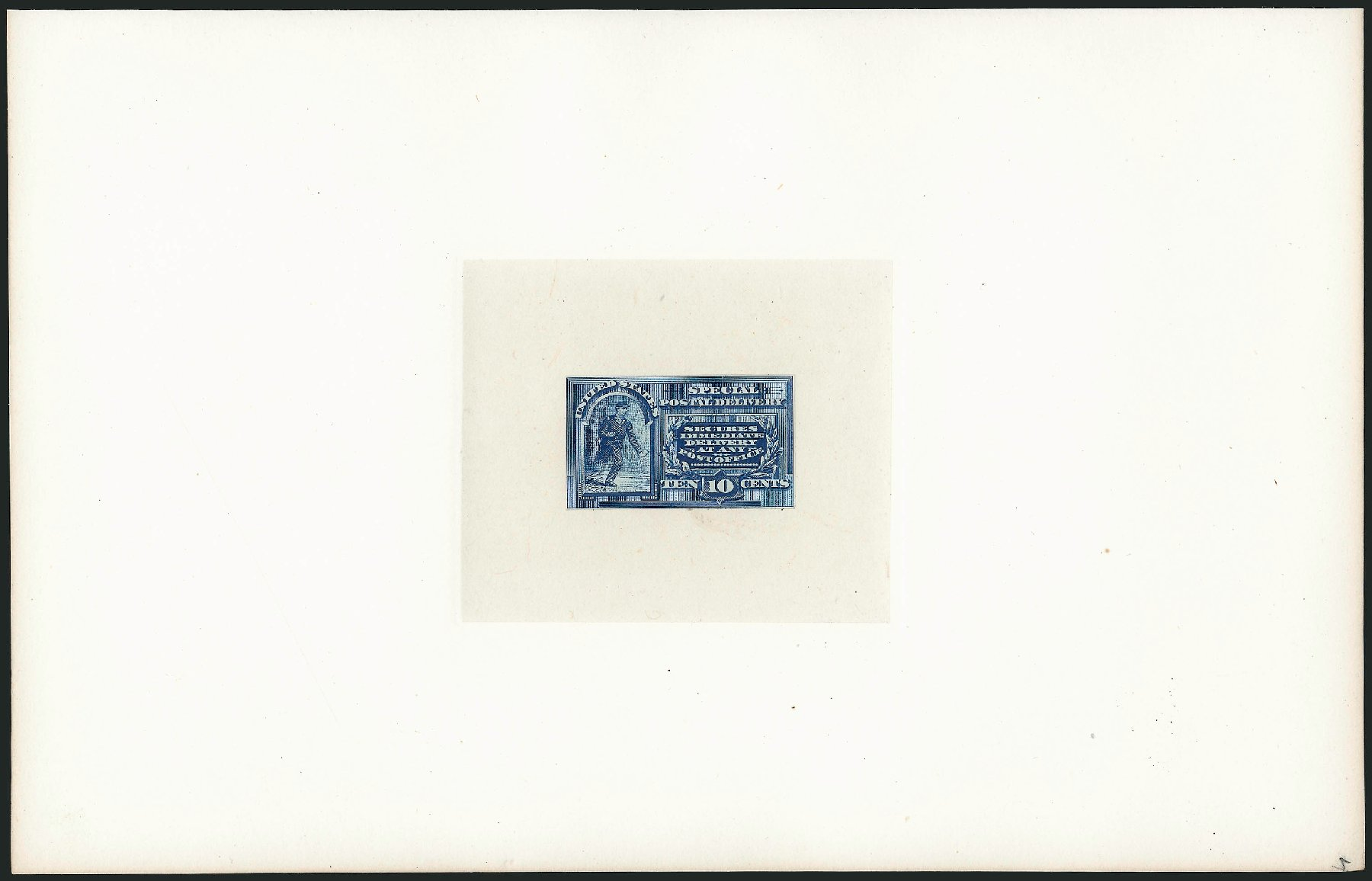 US Stamps Values Scott Catalog E2 - 10c 1888 Special Delivery. Robert Siegel Auction Galleries, Mar 2015, Sale 1094, Lot 2