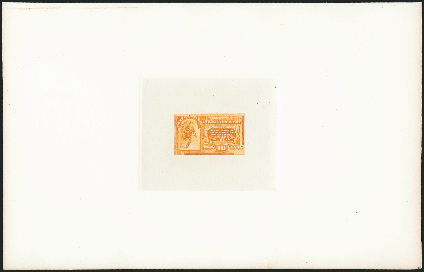 US Stamps Values Scott Cat. # E3 - 1893 10c Special Delivery. Robert Siegel Auction Galleries, Mar 2015, Sale 1094, Lot 3