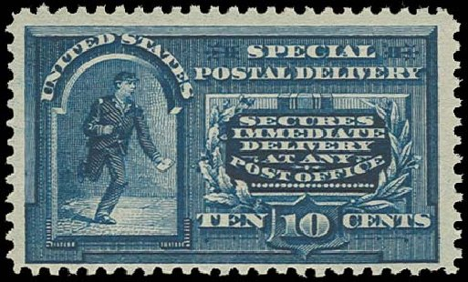 US Stamps Prices Scott Catalogue #E4: 1894 10c Special Delivery. H.R. Harmer, Oct 2014, Sale 3006, Lot 1494