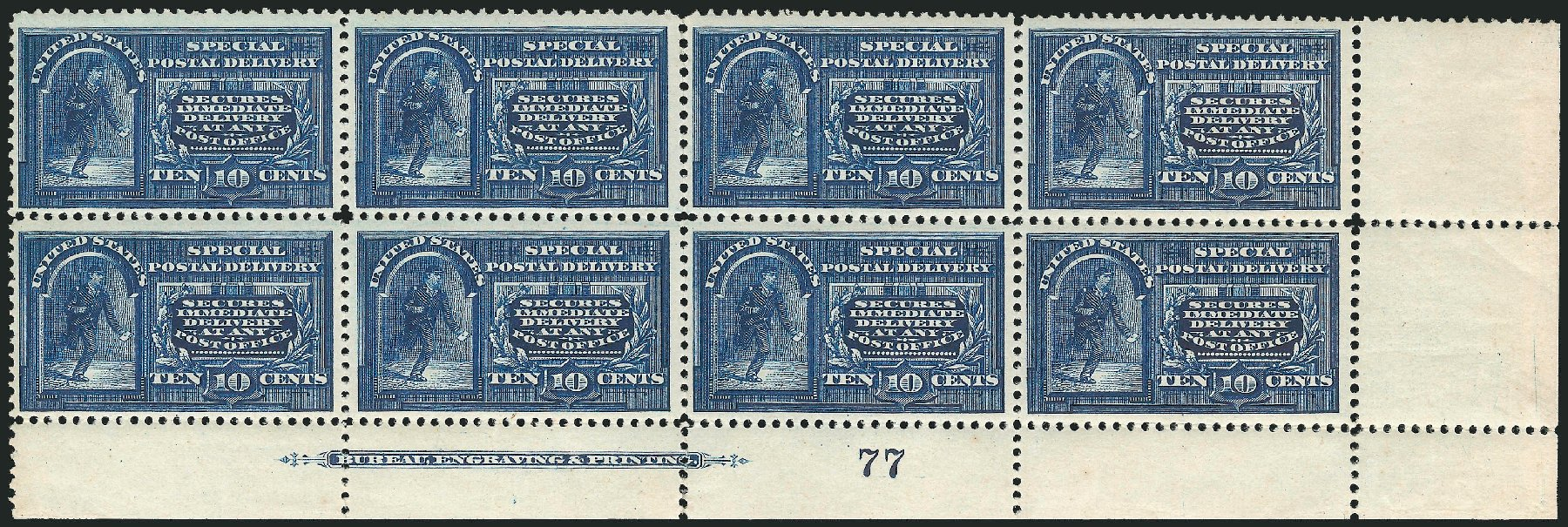 Prices of US Stamp Scott Catalog E4: 1894 10c Special Delivery. Robert Siegel Auction Galleries, Mar 2015, Sale 1094, Lot 15
