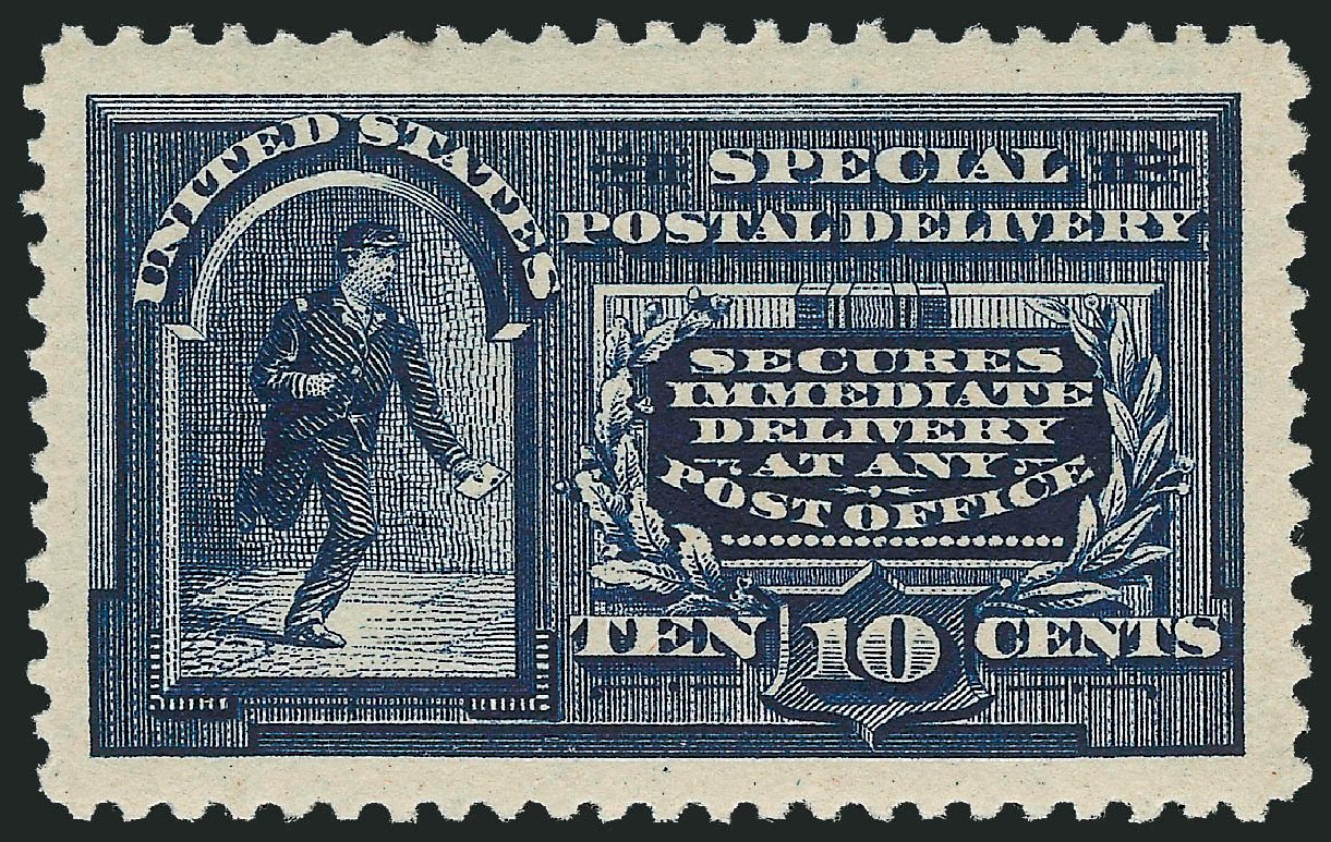 US Stamp Prices Scott Catalogue #E4: 1894 10c Special Delivery. Robert Siegel Auction Galleries, Mar 2015, Sale 1094, Lot 13
