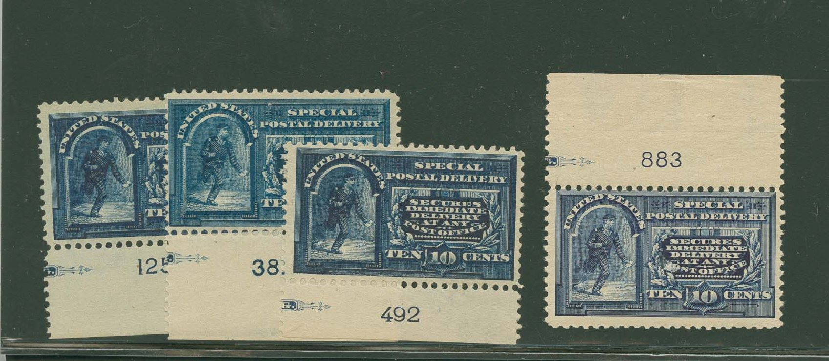 US Stamp Price Scott Catalogue # E5 - 10c 1895 Special Delivery. H.R. Harmer, Oct 2014, Sale 3006, Lot 1497