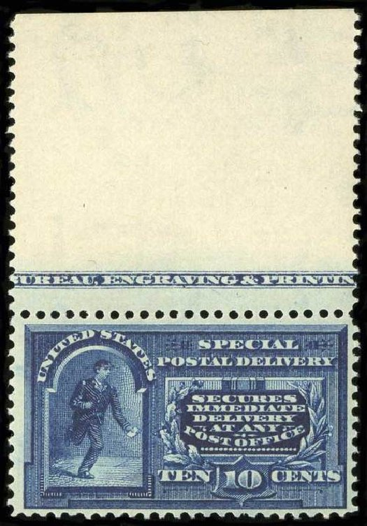 US Stamps Price Scott Catalogue #E5: 10c 1895 Special Delivery. Spink Shreves Galleries, Jul 2015, Sale 151, Lot 372