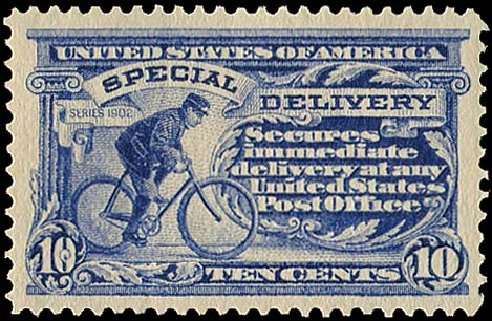 Cost of US Stamp Scott E6 - 10c 1902 Special Delivery. Regency-Superior, Aug 2015, Sale 112, Lot 1057
