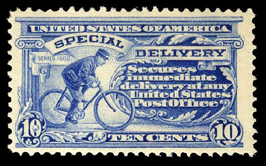 Prices of US Stamps Scott Catalog #E6: 10c 1902 Special Delivery. Cherrystone Auctions, Jul 2015, Sale 201507, Lot 98