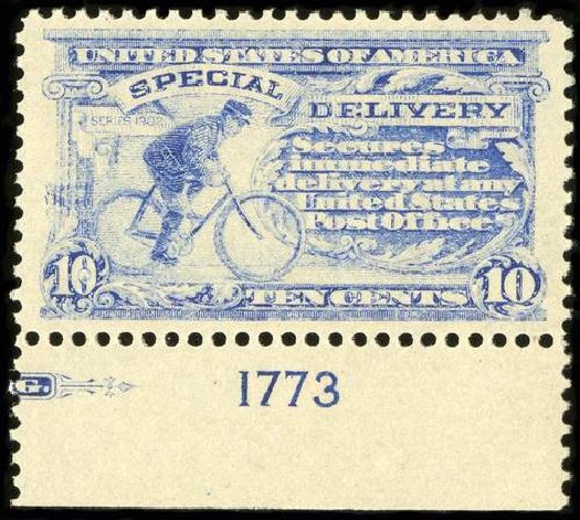 Cost of US Stamps Scott Catalog E6 - 10c 1902 Special Delivery. Spink Shreves Galleries, Jul 2015, Sale 151, Lot 373