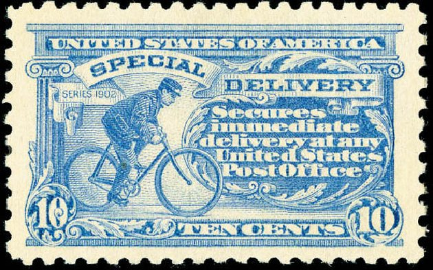 Cost of US Stamp Scott Catalogue # E9 - 10c 1914 Special Delivery. Matthew Bennett International, Dec 2008, Sale 330, Lot 1909
