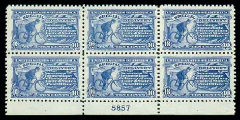US Stamp Price Scott Catalogue #E9 - 1914 10c Special Delivery. Matthew Bennett International, Dec 2007, Sale 325, Lot 2406
