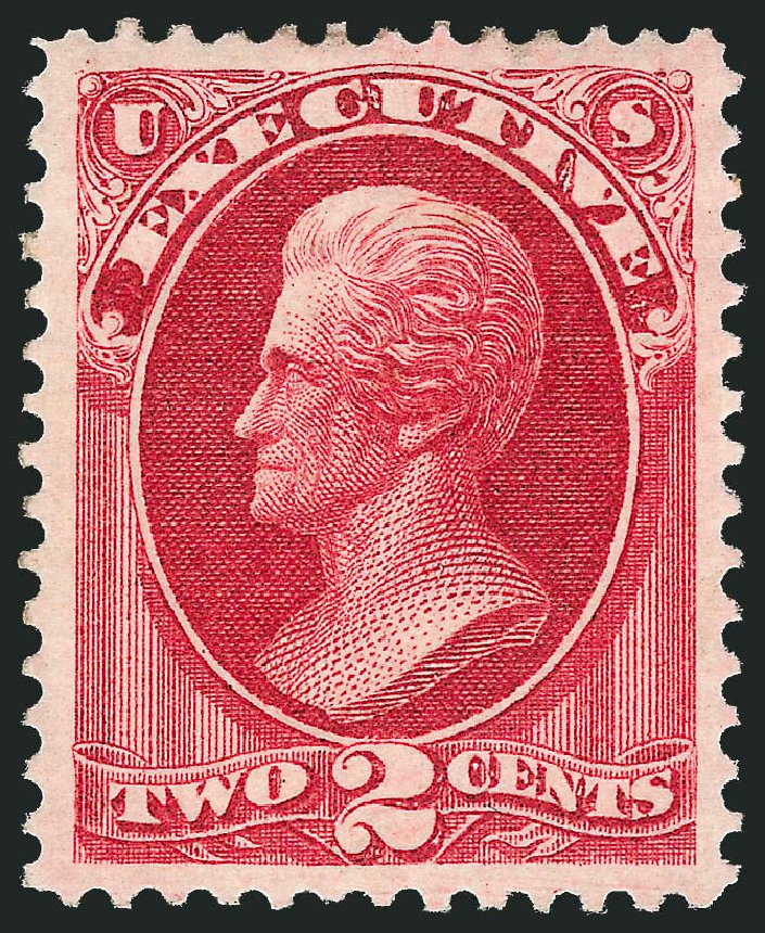 Price of US Stamps Scott Catalogue #O11: 1873 2c Executive Official. Robert Siegel Auction Galleries, Dec 2011, Sale 1017, Lot 957