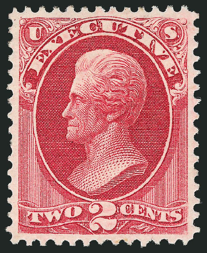 US Stamp Value Scott Catalog # O11 - 2c 1873 Executive Official. Robert Siegel Auction Galleries, Nov 2014, Sale 1085, Lot 4028