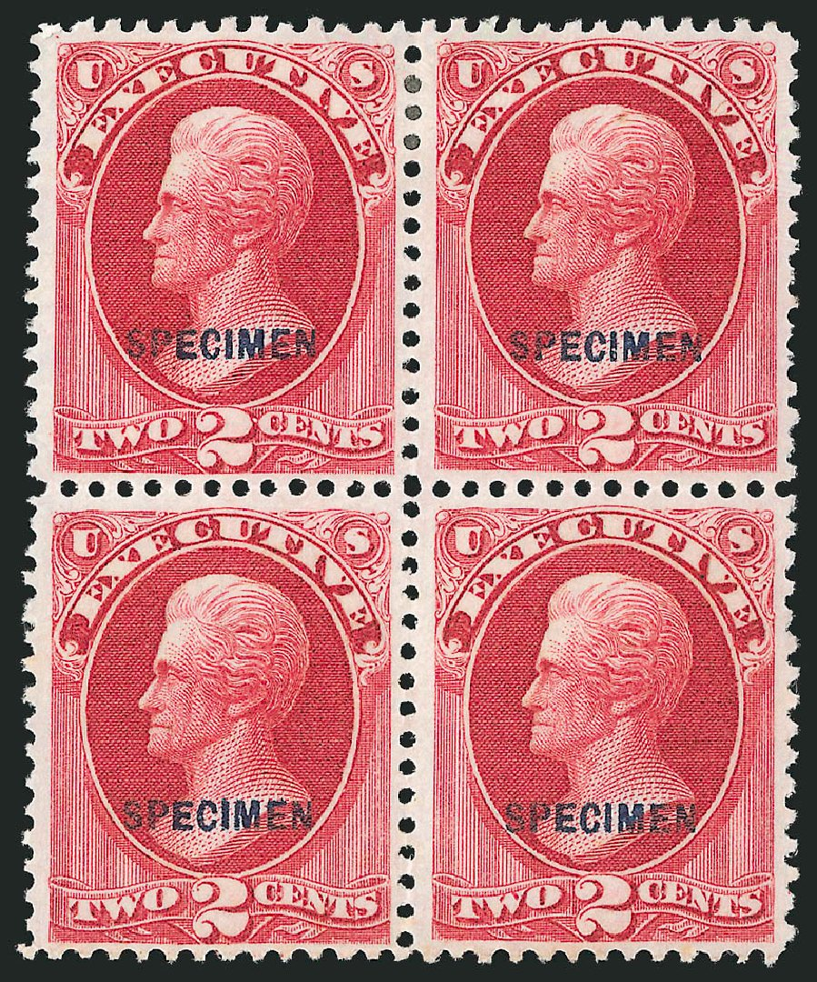 US Stamps Price Scott Catalogue # O11: 2c 1873 Executive Official. Robert Siegel Auction Galleries, Mar 2015, Sale 1095, Lot 531