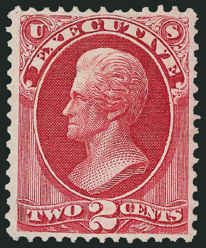 Cost of US Stamps Scott Catalog #O11: 2c 1873 Executive Official. Robert Siegel Auction Galleries, Oct 2011, Sale 1014, Lot 2342