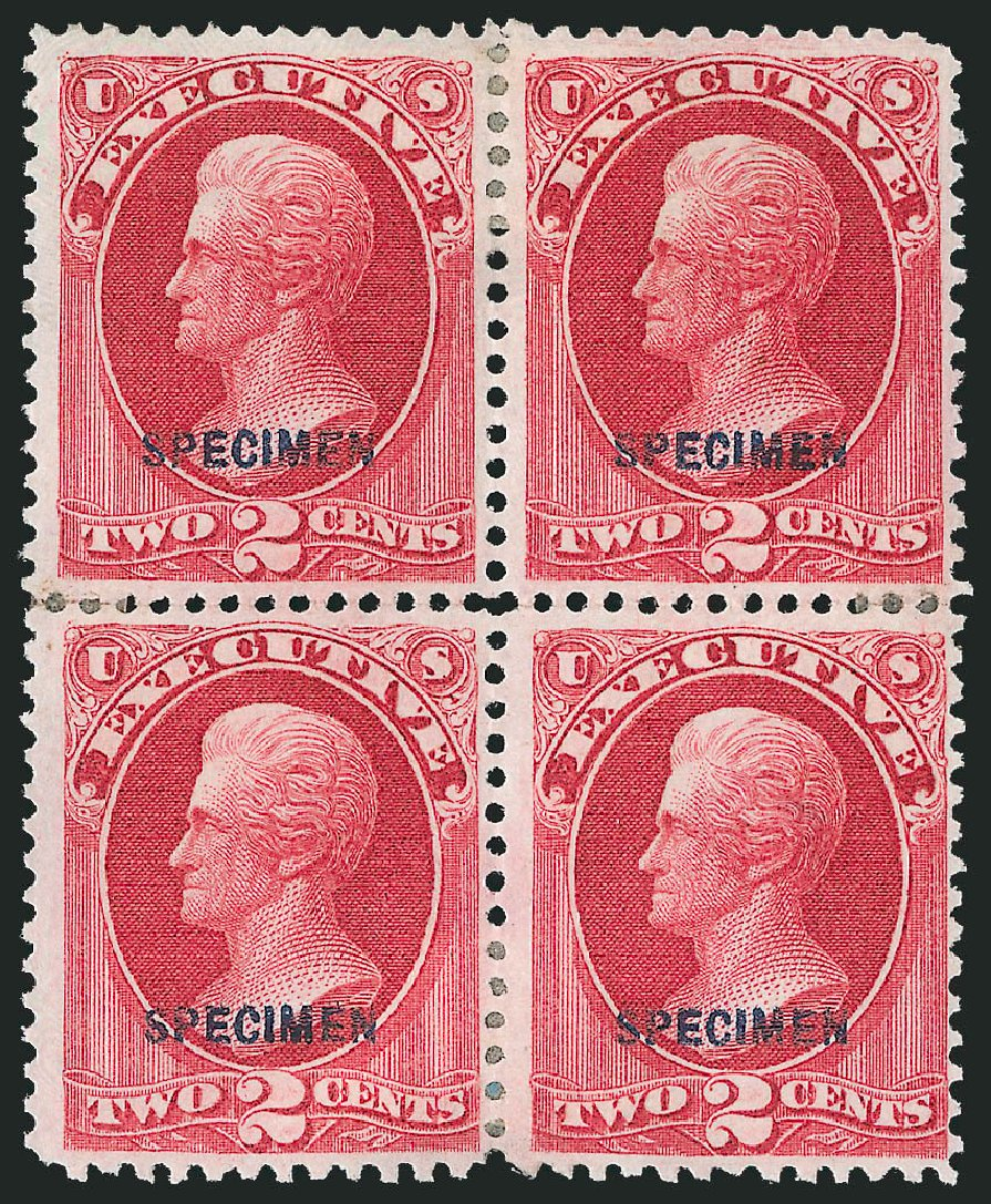 US Stamp Values Scott Cat. # O11 - 2c 1873 Executive Official. Robert Siegel Auction Galleries, Mar 2015, Sale 1095, Lot 532