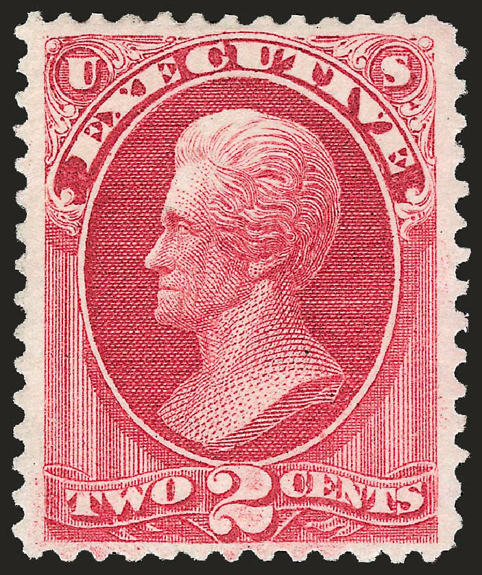 Price of US Stamps Scott Cat. #O11 - 1873 2c Executive Official. Robert Siegel Auction Galleries, Apr 2010, Sale 984, Lot 1153