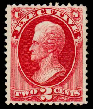 Costs of US Stamp Scott # O11: 1873 2c Executive Official. Daniel Kelleher Auctions, Sep 2013, Sale 639, Lot 3796