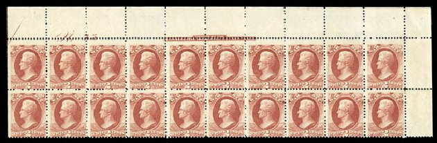 Value of US Stamps Scott Cat. # O115: 1879 2c War Official. Matthew Bennett International, Mar 2012, Sale 344, Lot 4824
