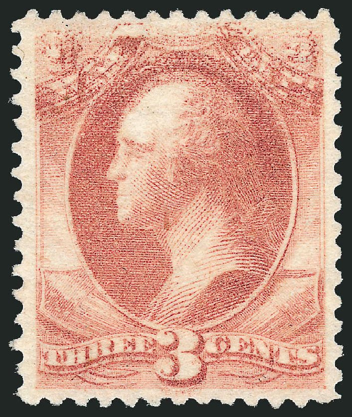Costs of US Stamps Scott Cat. O116 - 1879 3c War Official. Robert Siegel Auction Galleries, Oct 2011, Sale 1014, Lot 2374