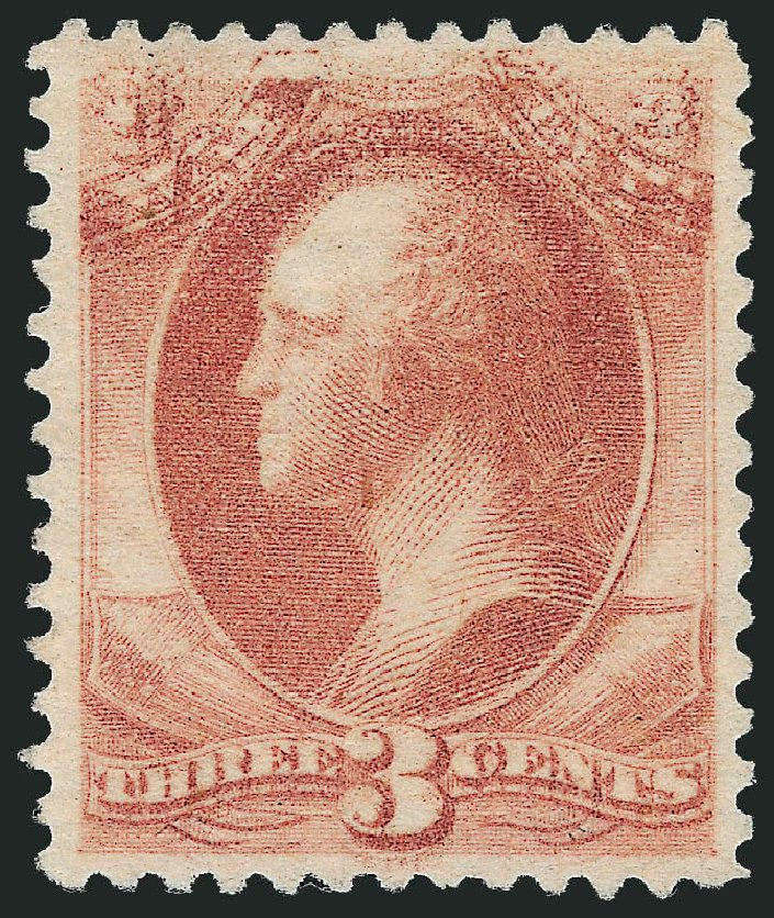US Stamps Values Scott Catalog # O116: 1879 3c War Official. Robert Siegel Auction Galleries, Dec 2010, Sale 1003, Lot 5453