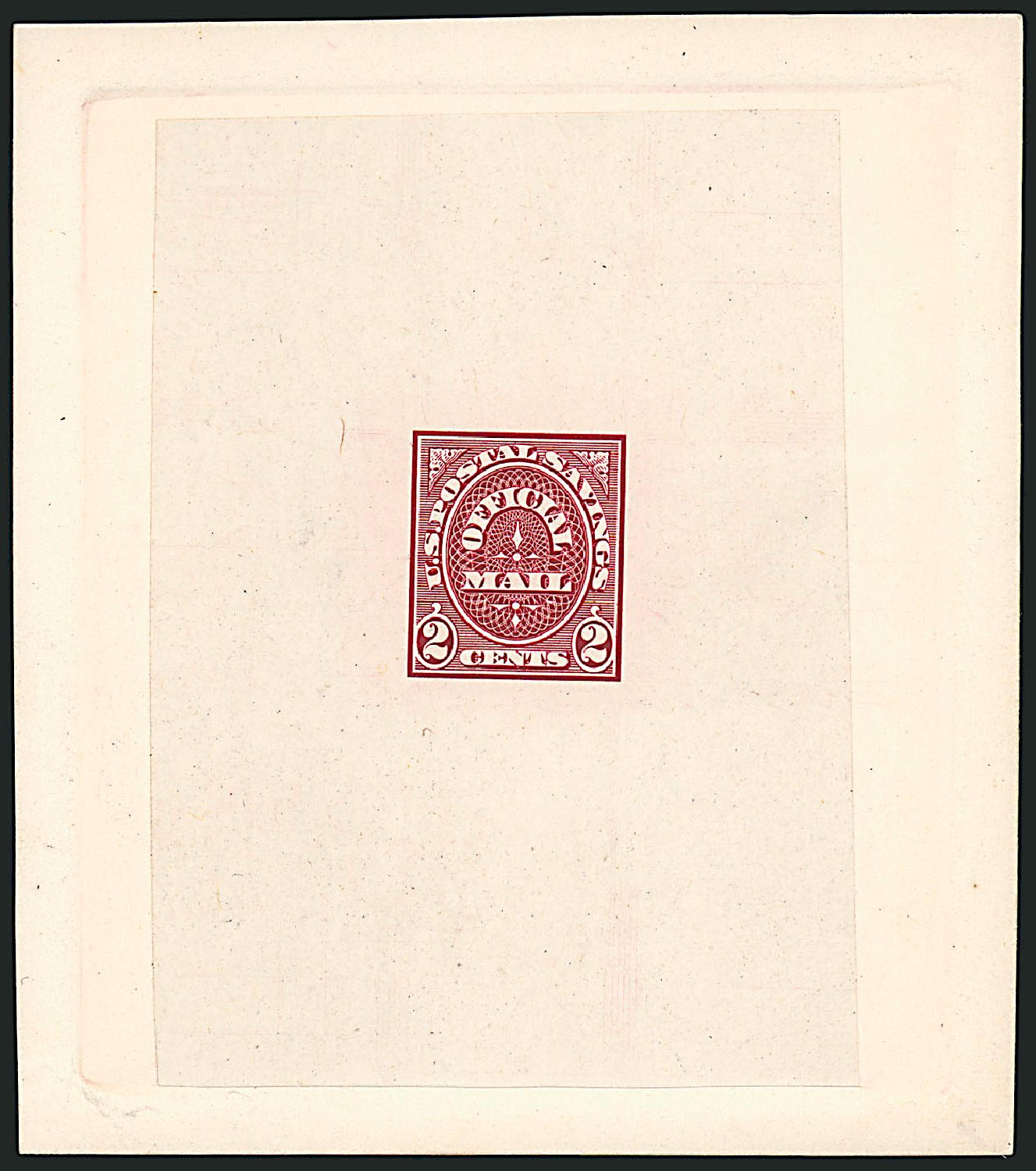 Prices of US Stamp Scott Catalogue #O121 - 1910 2c Postal Savings Official. Robert Siegel Auction Galleries, Jun 2010, Sale 991, Lot 1467