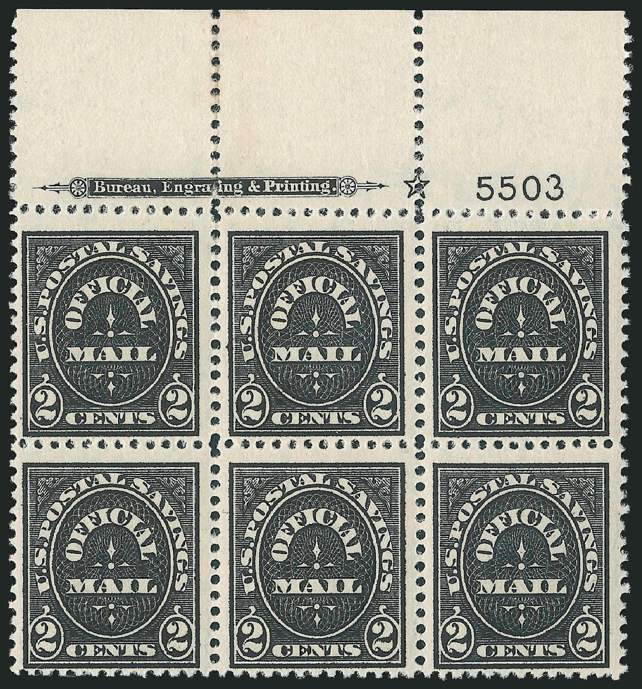 Prices of US Stamp Scott Cat. #O121 - 2c 1910 Postal Savings Official. Robert Siegel Auction Galleries, Jun 2010, Sale 991, Lot 1472