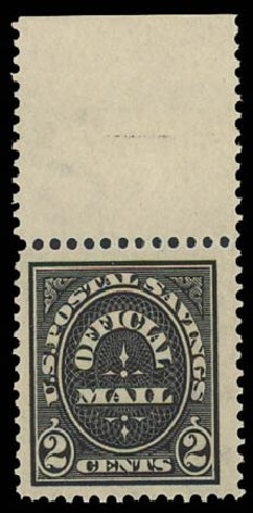 US Stamp Prices Scott O125: 1910 2c Postal Savings Official. Daniel Kelleher Auctions, Oct 2011, Sale 626, Lot 611