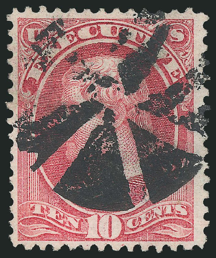 Price of US Stamps Scott Catalogue # O14 - 10c 1873 Executive Official. Robert Siegel Auction Galleries, Mar 2012, Sale 1019, Lot 967