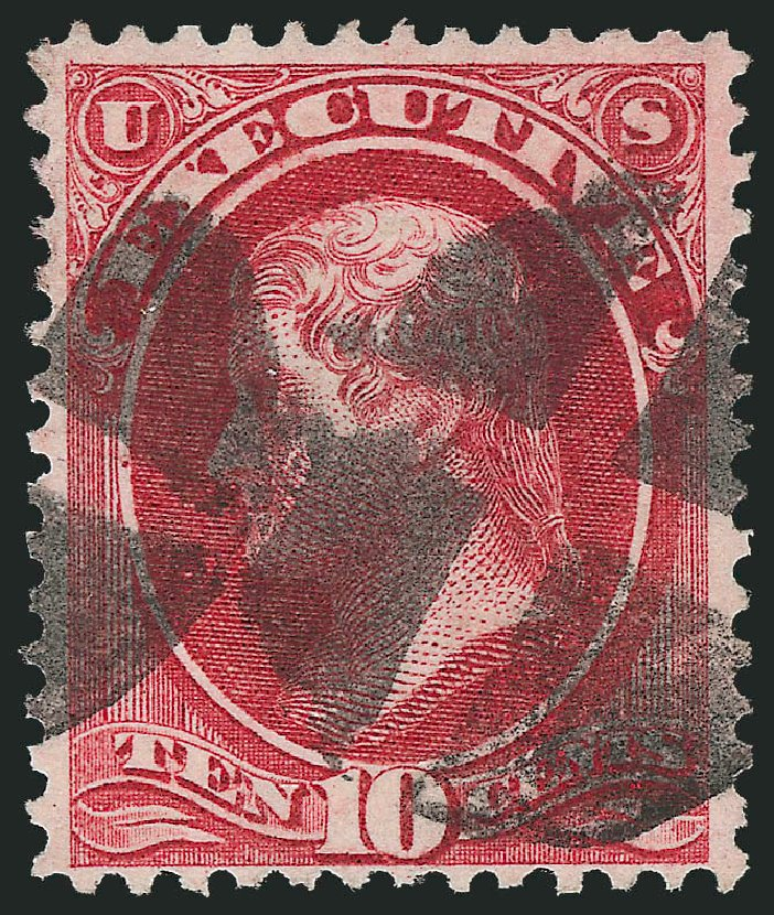 Prices of US Stamp Scott Cat. # O14: 10c 1873 Executive Official. Robert Siegel Auction Galleries, Oct 2012, Sale 1032, Lot 3649